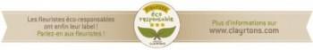 Bandeau label fleuriste eco-responsable