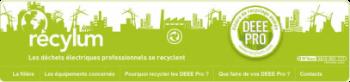 Bandeau Recyclum Recyclage des équipements électriques usagés du bâtiment