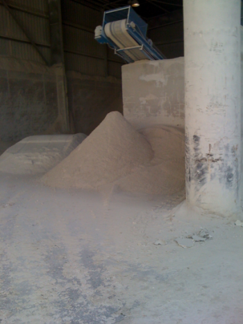 Poudre de Gypse - La filière de recyclage des déchets de plâtre s'implante en Gironde