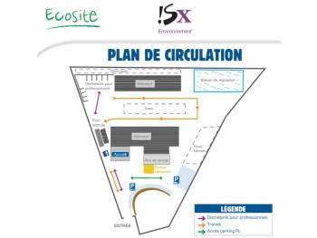 Plan de l'ECOSITE de Sainte-Eulalie (SX Environnement)